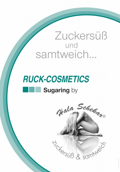 RUCK-COSMETICS Poster Sugaring