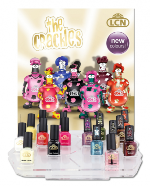 """B-Ware: LCN Nagellack-Display """"The Crackles"""" new colours!"""